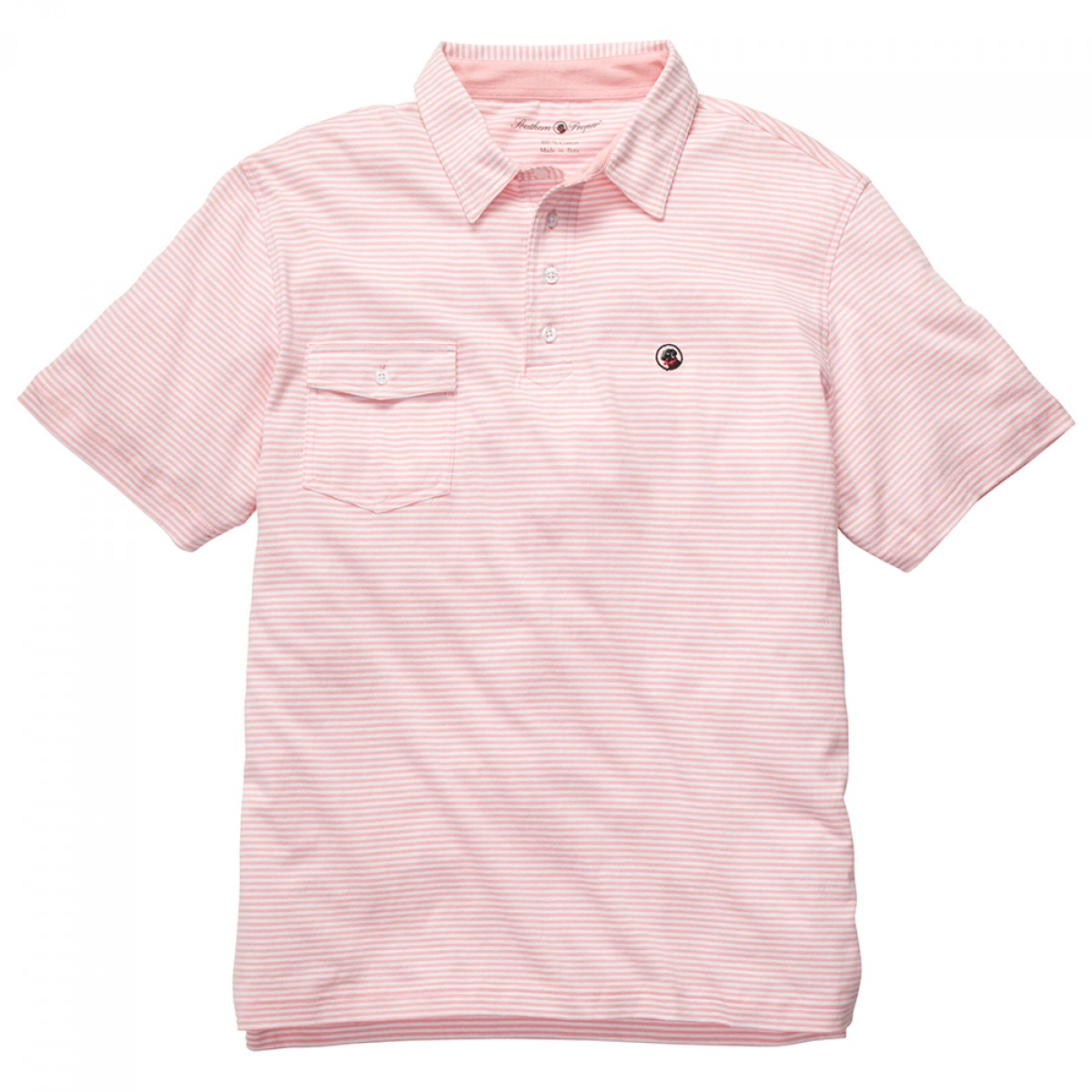 Tourney Shirt - Pink Stripe